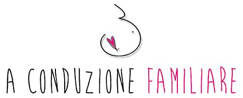 Logo a conduzione familiare corsi maternità e famiglia